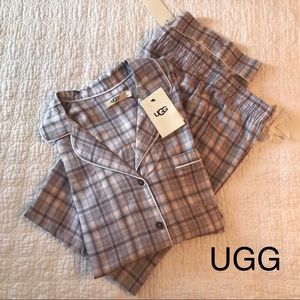 UGG -comfy pjs ,💜purple plaid